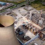 Cooling Tower Drone Video Still