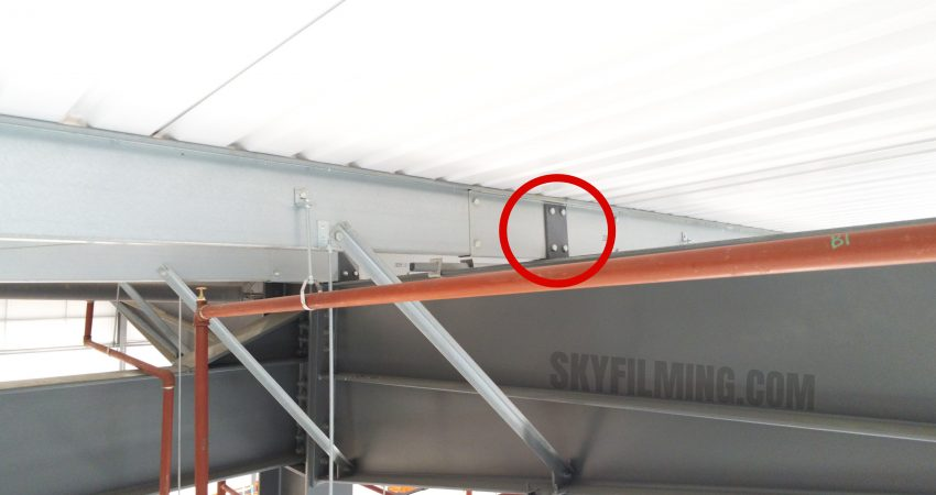 Internal drone roof instection Gateshead