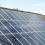 Leeds primary school camera pole solar panel inspection