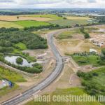 West Yorkshire Drone Road Build Construction Survey Complete