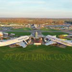 Leicestershire Aviation Museum Drone Aerial Filming