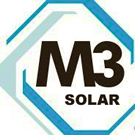 Aerial photography and video of solar panel installations for M3 Solutions
